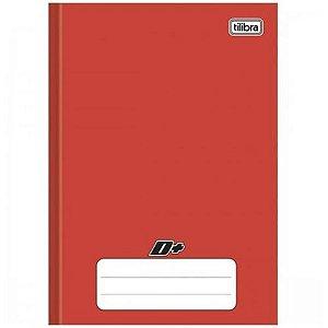 Caderno Broc Cd 1m 96f D+ Vermelho - Tilibra