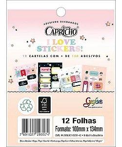 Adesivo Decorado Bloco Capricho - Tilibra