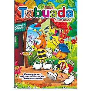 Cartilha Minha Tabuada É Um Amor - Bahia Artes