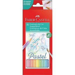 Ecolapis Cor C/10 Pastel Aquarelavel - Faber
