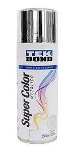 Tinta Spray 350ml Supercolor Metal Cromado-tekbond