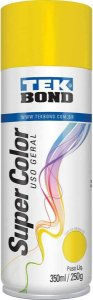Tinta Spray 350ml Supercolor Amarelo - Tekbond