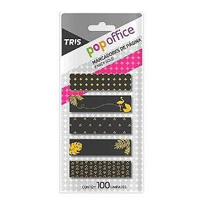 Marcador Pag C/100 Pop Offic Fun Gold Sortido-tris