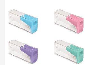 Apontador C/borracha Tons Pastel - Faber Castell