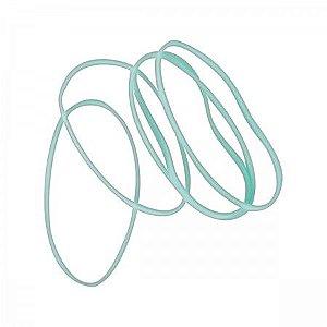 Elastico C/50 Colorido Aqua - Tilibra