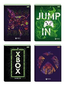 Caderno Broc Cd 1m 80f Xbox - Jandaia