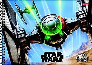 Caderno Esp Cartografia Cd 80f Star Wars - Jandaia