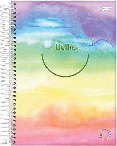 Caderno Esp Univ Cd 1m 80f Energy Color - Jandaia