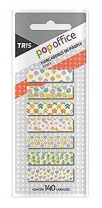 Marcador Pag C/140 Pop Office Funcy Sortido - Tris