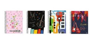 Caderno Esp Univ Cd 50f Musica - Sd