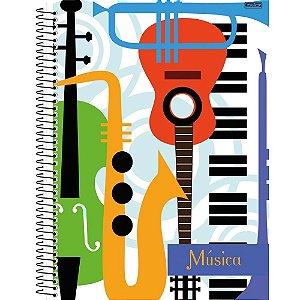Caderno Esp Univ Cd 96f Musica - Sd