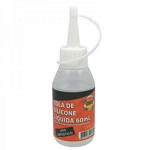 Cola Silicone Líquida Leonora 60ml Ref-4314