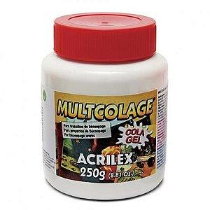 MULTCOLAGE 250G - ACRILEX