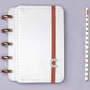 CADERNO INTELIGENTE DELUXE ALL WHITE - PEQUENO