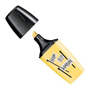 Marcador Destaca Stabilo Boss Mini Pastel Amarelo 07/144