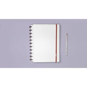 CADERNO INTELIGENTE DELUXE ALL  WHITE - A5