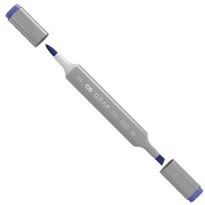 Caneta Cis Graf Duo Brush Cobalt Blue 71