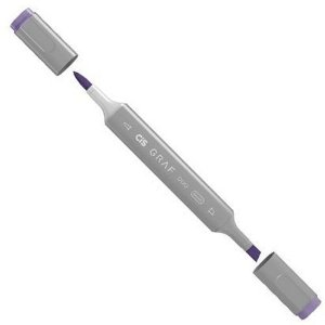 Caneta Cis Graf Duo Brush Deep Violet 81