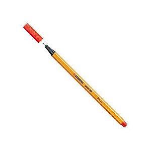 Caneta hidrográfica Fine Point 88/48 - Vermelho claro - Stabilo