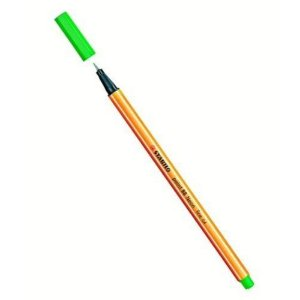 Caneta Hidrografica Stabilo Point 88/033 Verde Neon