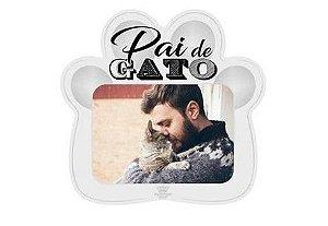 Porta Retrato Pata- Pai de Gato