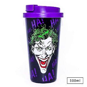 Copo com Tampa Joker Hahaha – Dc Comics