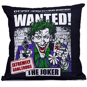 Almofada Decorativa Joker Wanted – Dc Comics
