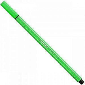 Caneta Stabilo Pen Verde Fluorescente 68/033