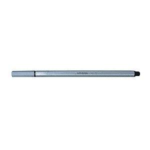 Caneta Hidrográfica Stabilo Pen 68 Cinza Escuro 68/97
