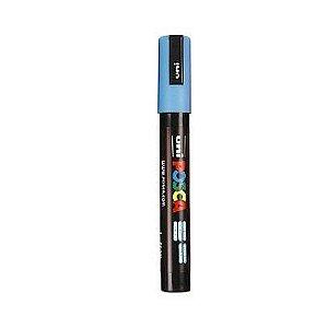 Caneta Posca Marcador Pc-5m - Azul Claro - Ponta Média