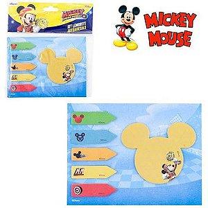 Bloco de Adesivos Sticker C/ 6 Un Mickey