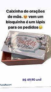 CAIXINHA DE ORAÇÃO - MÃE