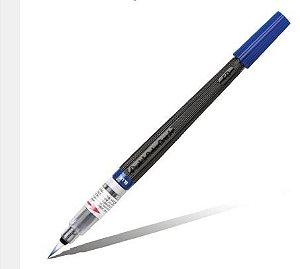 Caneta Pincel Aquarela Color Brush Azul -
