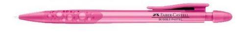 Lapiseira 0.5mm Faber Castell Bubble Pastel Rosa