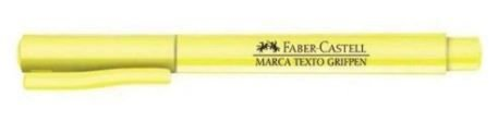 Caneta Marca Texto Grifpen Amarelo Pastel - Faber-Castell