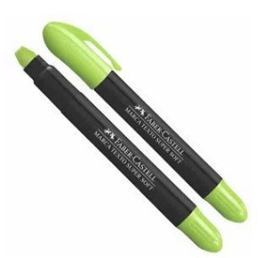 Marcador de Texto Gel Super Soft Verde Faber-Castell