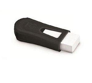 Apontador Com Borracha Fc Mix Black Neon Faber Castell