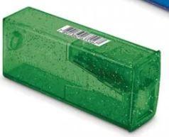 Apontador Com Depósito Glitz Faber Castell Verde
