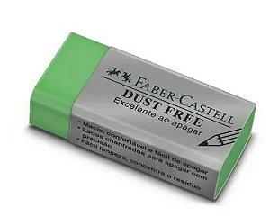 Borracha Retangular Cores Sortidas Dust Free Faber-castell