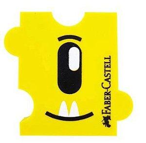 Borracha Monster Puzzle Amarela Faber Castell