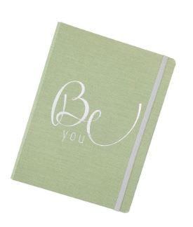 Caderno Cotton Verde  System Flex Grande