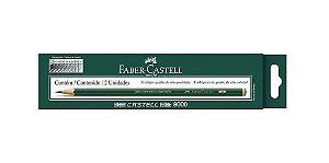 Lápis Grafite 6b 9000 Com 12 Un.Faber-castell
