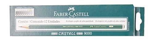 Lápis Técnico, Faber Castell, 9000H, Multicor