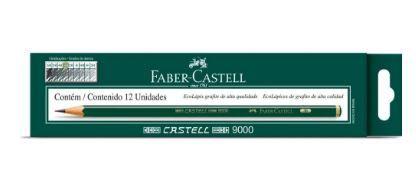 Lapis Grafite Tecnico Faber-Castell 9000 3B Caixa C/ 12