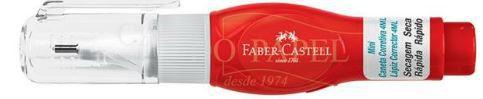 Corretivo Caneta 4ml-faber Castell Corpo Vermelho