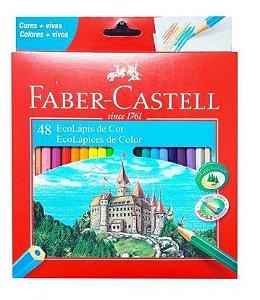 Lápis De Cor 48 Cores - Faber Castell