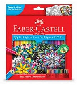 Lápis de cor 60 cores - Faber-Castell