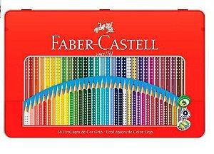 Lápis de Cor EcoLápis Colour Grip 36 Cores, Faber-Castell