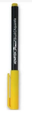 Brush Pen Amarelo Girrasol -  NewPen