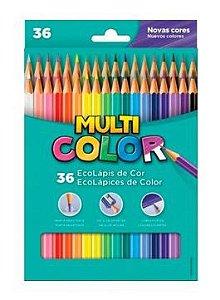 Lápis de Cor 36 Cores – Multicor